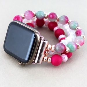 Jewelry - Super Cute Beaded Apple Watch Bands !
